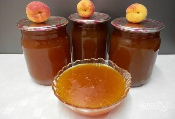 Варенье из абрикосов (густое повидло)