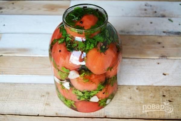 Малосольные помидоры по-грузински