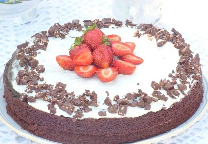 Домашние торт легкий - пошаговый рецепт с фото на