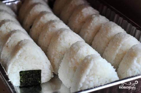 Рисовые треугольники - пошаговый рецепт с фото на