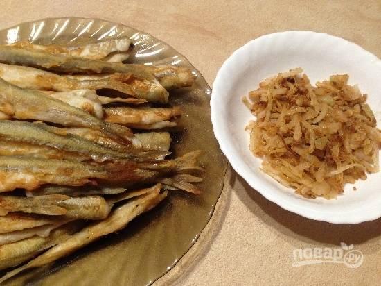 Корюшка жареная маринованная - пошаговый рецепт с фото на