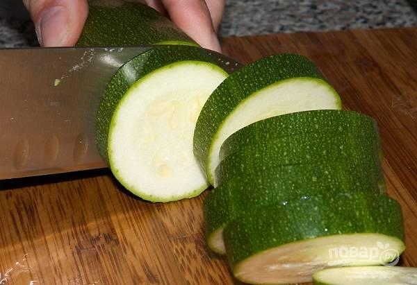 Кабачки с чесноком - пошаговый рецепт