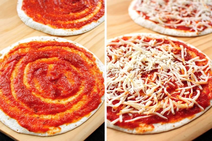 Простая пицца - пошаговый рецепт с фото на