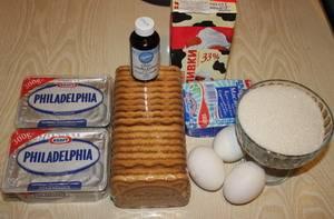 Чизкейк - Нью-Йорк - классический рецепт - пошаговый рецепт с фото на
