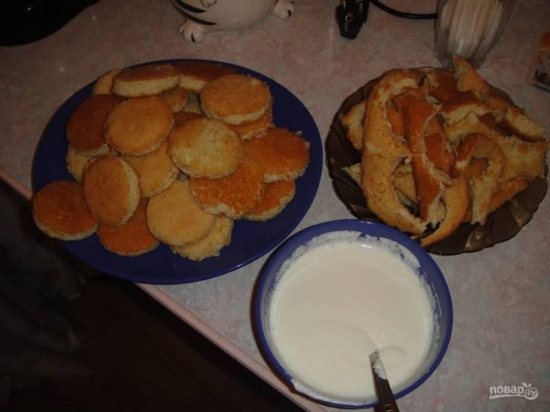 Торт - Черепаха - со сметаной - пошаговый рецепт с фото на