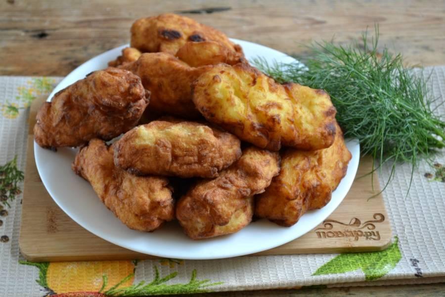 Картофельные крокеты - пошаговый рецепт