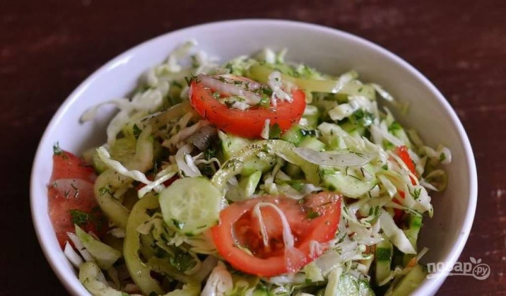 Салат из айсберга рецепт пошагово