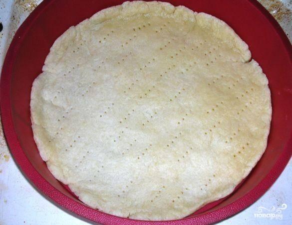 Пицца из песочного теста - пошаговый рецепт
