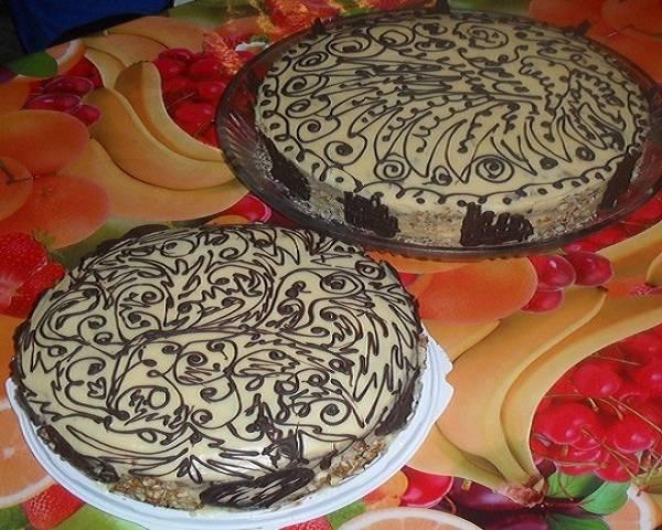 Торт - Арабская ночь - пошаговый рецепт с фото на
