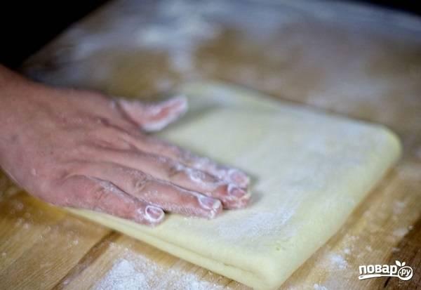Слоеное тесто на самсу - пошаговый рецепт