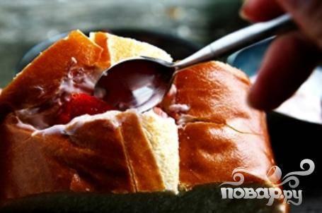 Французские тосты с фруктовой начинкой - пошаговый рецепт