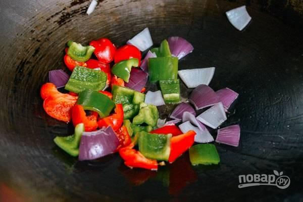Габаджоу в кисло-сладком соусе - пошаговый рецепт