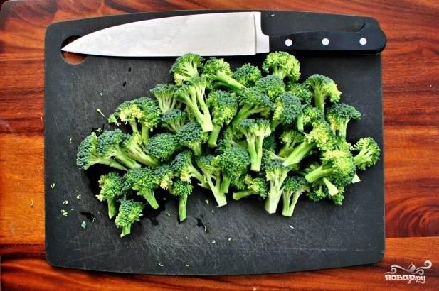 Брокколи запеченная в духовке - пошаговый рецепт с фото на