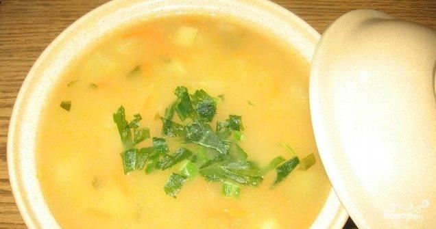 Суп из брюквы