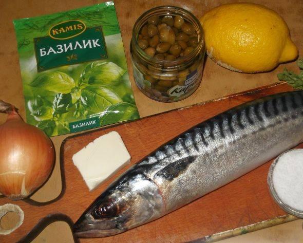 Диетическая рыба в духовке - пошаговый рецепт