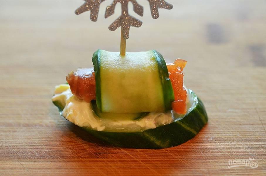 Ассорти из канапе - пошаговый рецепт с фото на