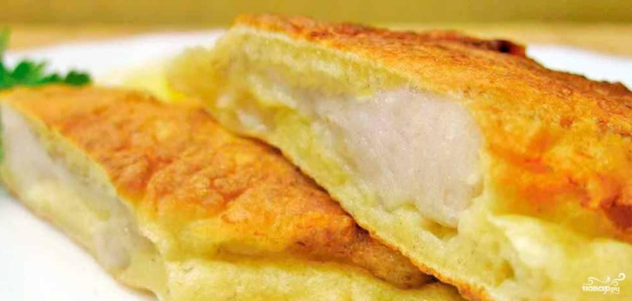 Пышный кляр для рыбы рецепт с фото