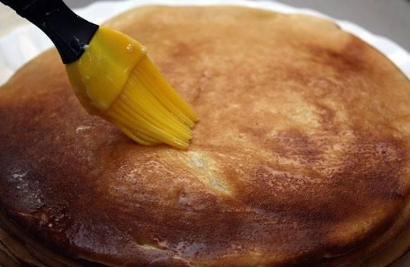 Блины - Mинутка - на сковороде - пошаговый рецепт