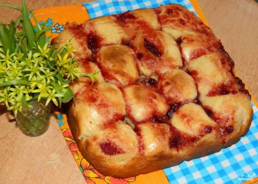 Пирог с творожным сыром