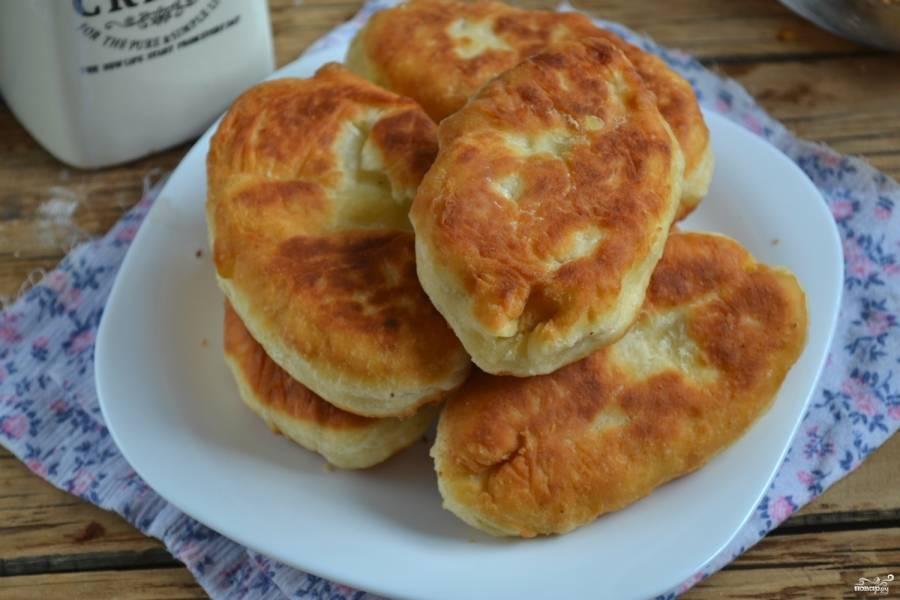 Рецепт пирожкового теста на кефире