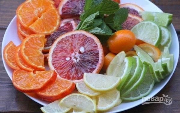 Гранатово-цитрусовый коктейль - пошаговый рецепт с фото на
