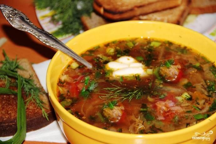 Борщ рецепт пошаговый с фото с тушенкой