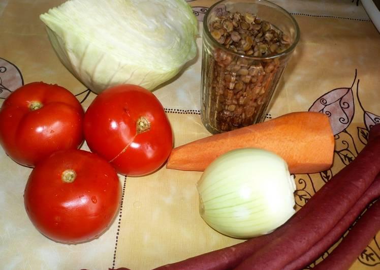 Тушеная капуста в мультиварке - Редмонд - пошаговый рецепт с фото на