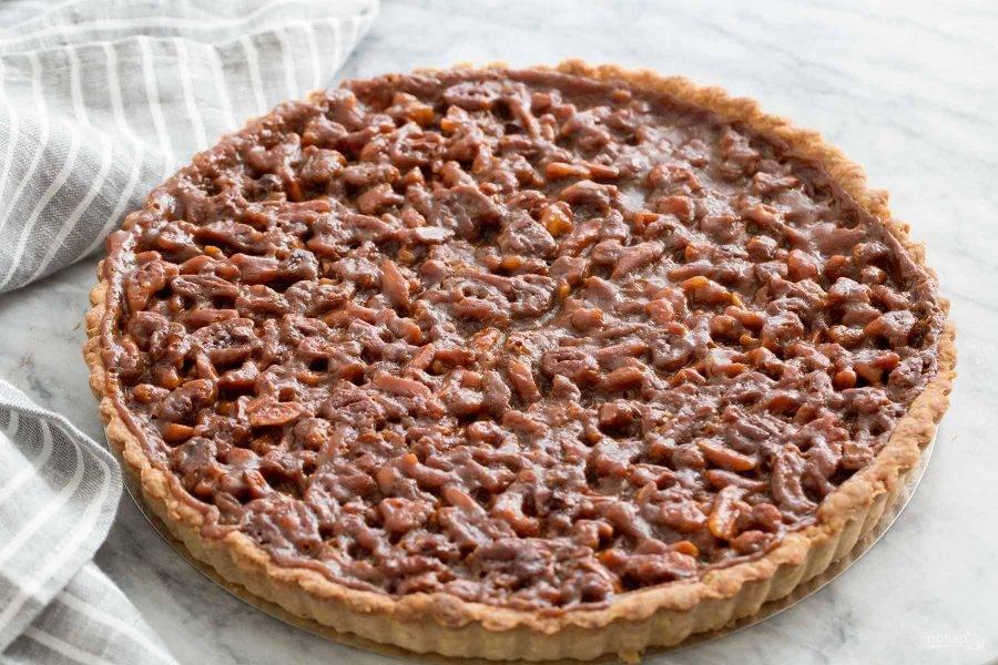 Карамельно-ореховый тарт - пошаговый рецепт с фото на