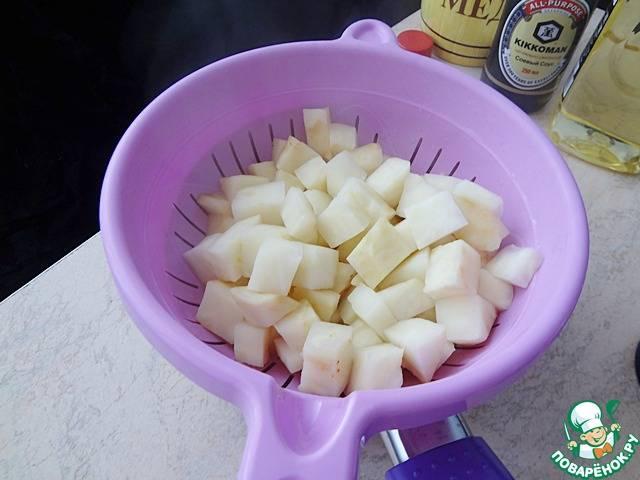 Вареный сельдерей - пошаговый рецепт