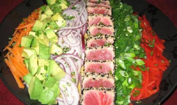 Рыбные салаты