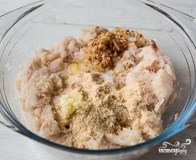 Котлеты из трески с сыром - пошаговый рецепт