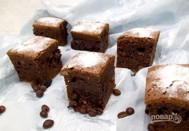 Шоколадный брауни кексы рецепт с пошагово