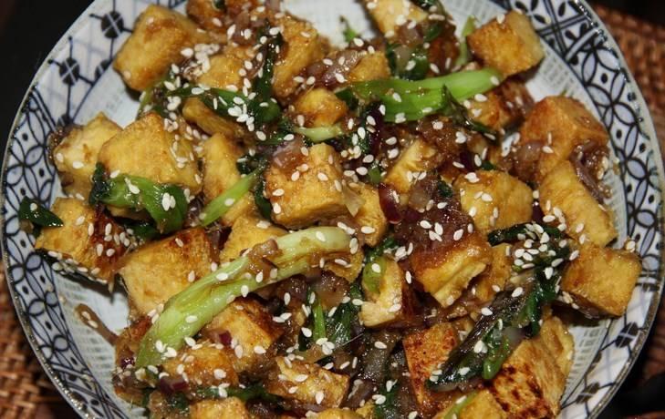 Баклажаны, жаренные в медовом соевом соусе - пошаговый рецепт