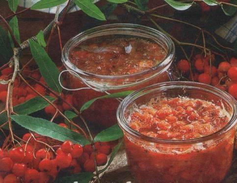 Варенье из сладкой рябины - пошаговый рецепт с фото на