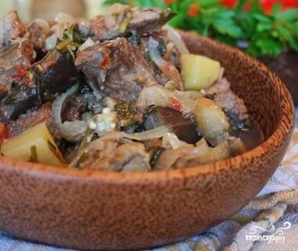 Чанахи из баранины по-грузински
