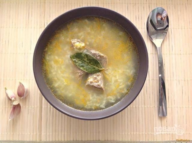 Суп без картофеля