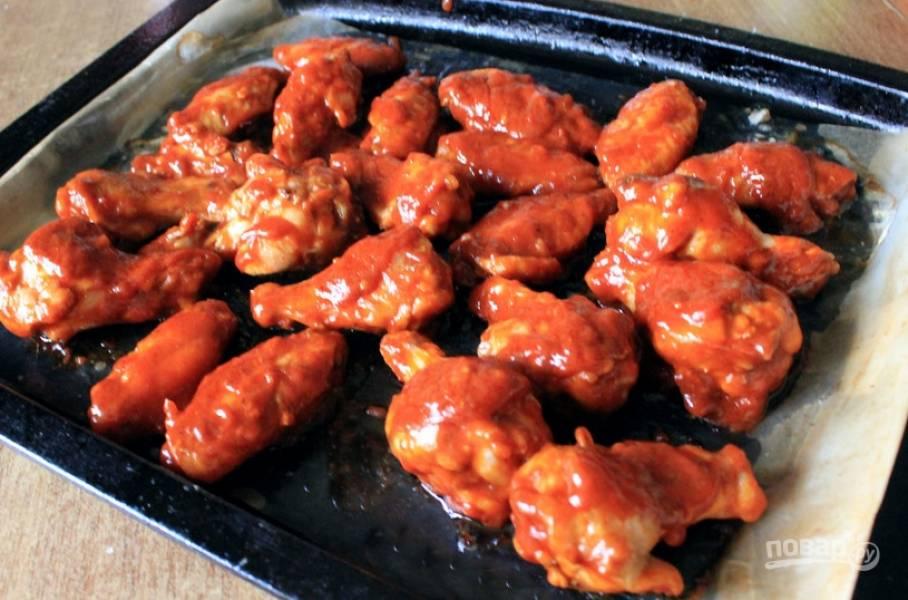Куриные крылышки - Баффало - пошаговый рецепт