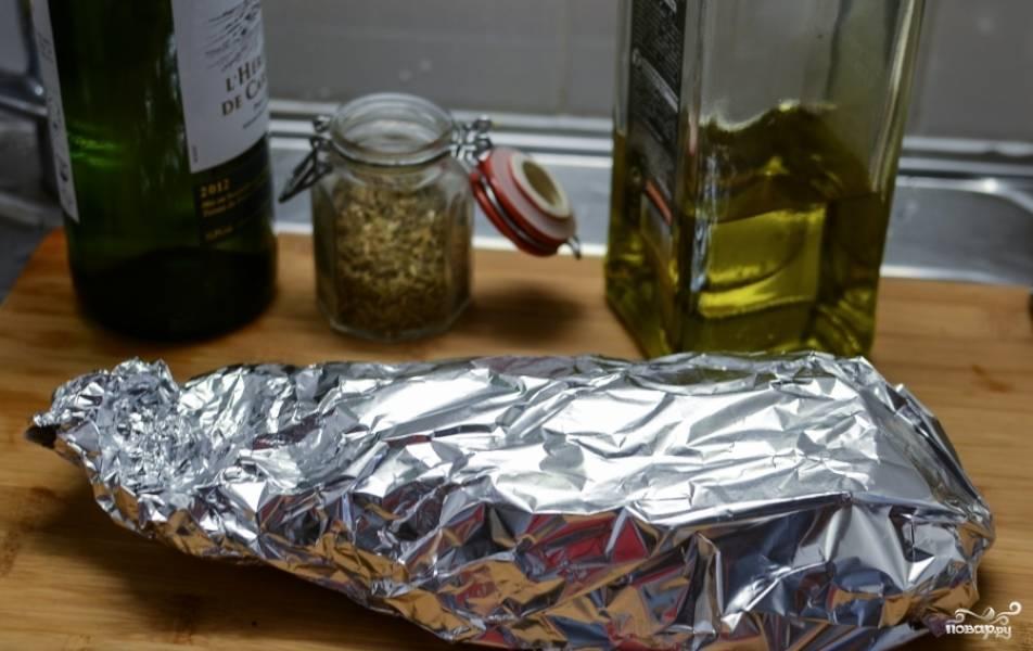Дорада в духовке в фольге - пошаговый рецепт