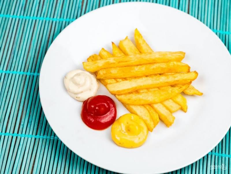 Картофель фри без фритюрницы