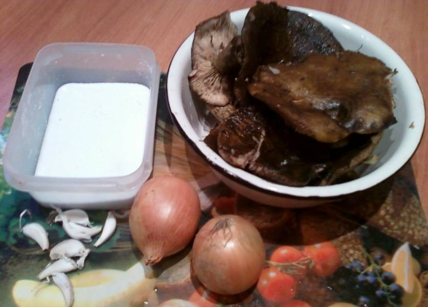 Грузди соленые без варки - пошаговый рецепт с фото на