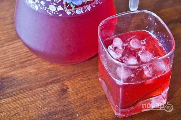 Морс из замороженных ягод