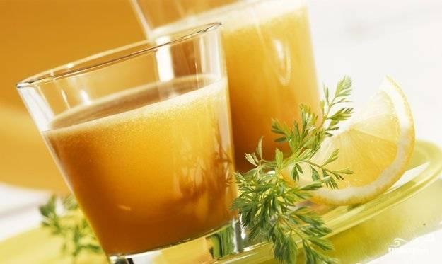 Морковный-картофельный сок