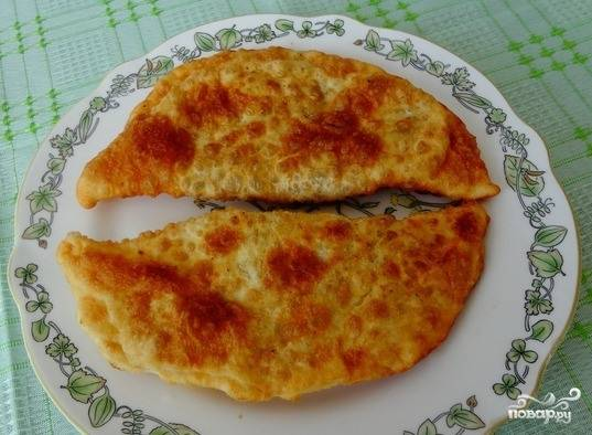 Пирожки с грибами и рисом