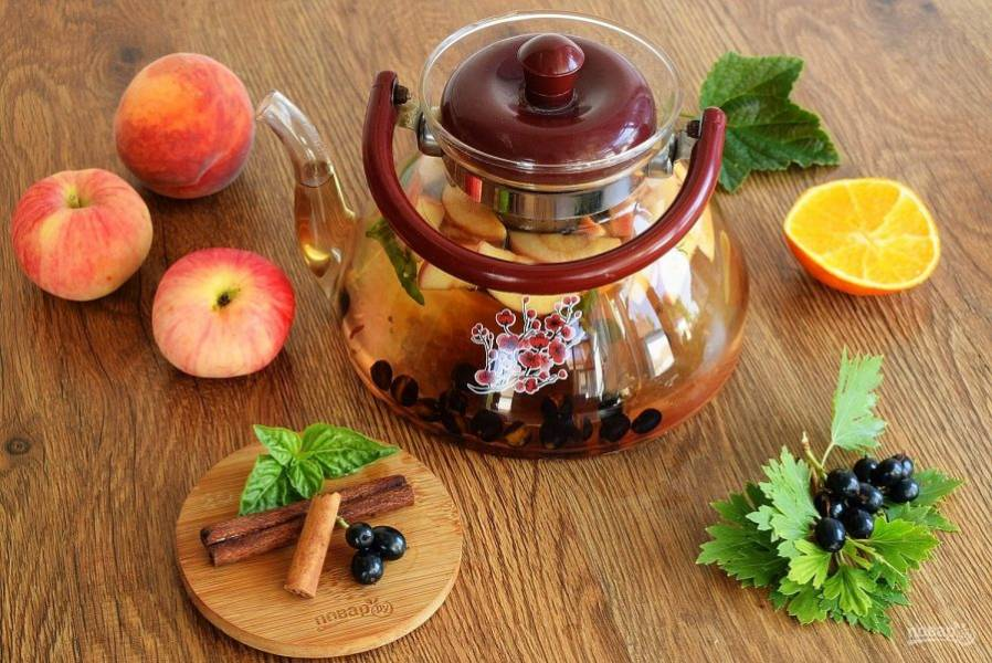 Летний чай - пошаговый рецепт с фото на