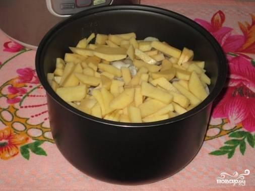 Вешенки с картошкой в сметане - пошаговый рецепт