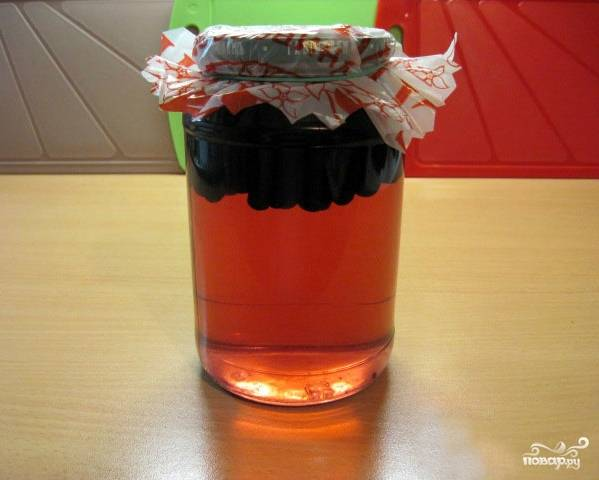 Компот из черноплодной рябины - пошаговый рецепт с фото на