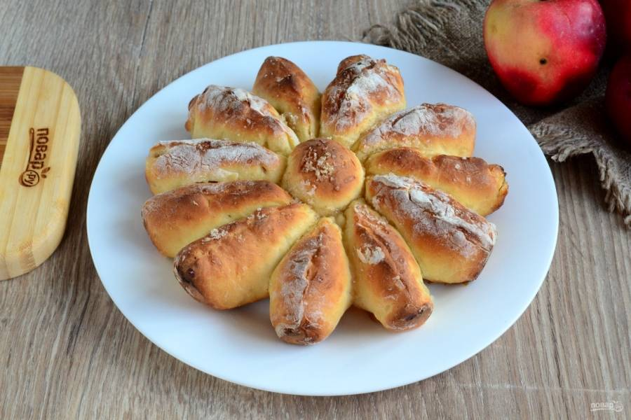 Отрывной яблочный пирог рецепт