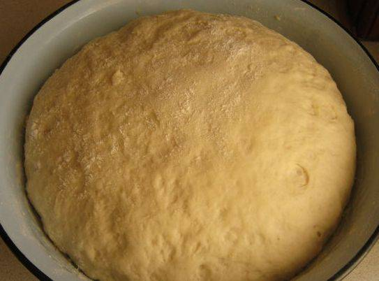 Дрожжевое тесто для печеных пирожков рецепт пошаговый