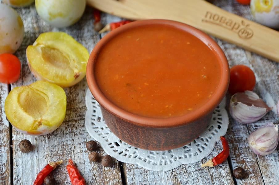 Кетчуп со сливами