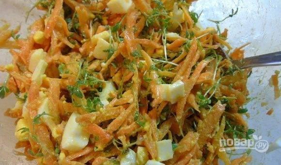 Кресс-салат - пошаговый рецепт